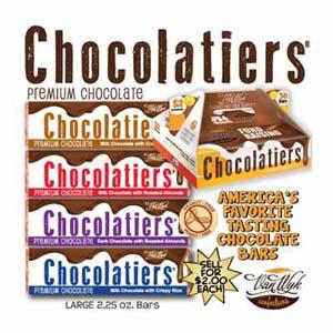 Chocolatiers Candy Bars