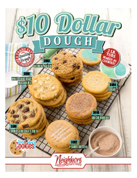10 Dollar Dough for Fundraising