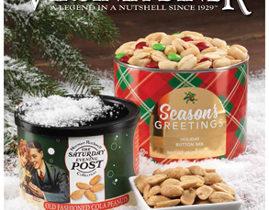 VA Diner Peanuts Holiday Fundraising Brochure
