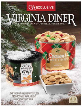 VA Diner Peanuts Holiday Fundraising Brochure
