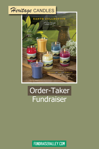 Heritage Candles Order-Taker Fundraiser
