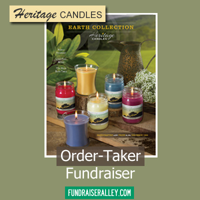 Heritage Candles Earth Collection Order-Taker Fundraiser