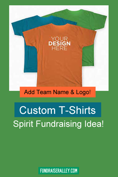 Custom T-Shirts for Fundraising