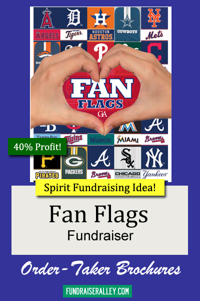 Fan Flags Order-Taker Fundraiser