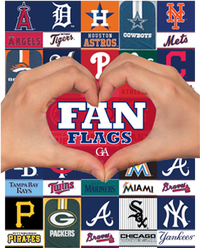 Fan Flags Fundraising Brochures