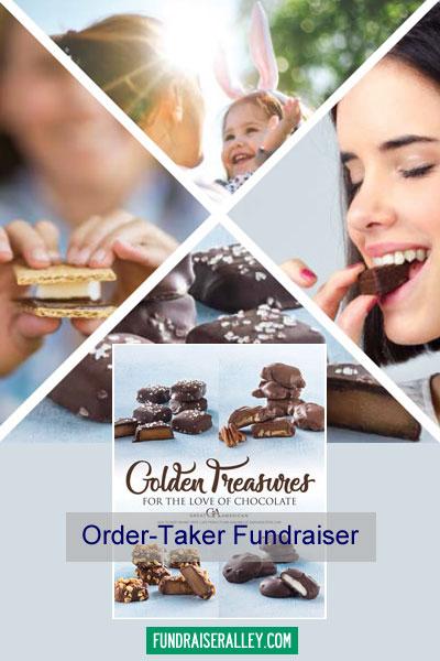 Golden Treasures Order-Taker Fundraiser Brochures