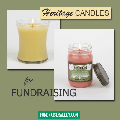 Heritage Candles Earth Collection Candle Fundraisers Fundraiser Alley