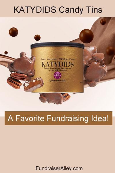 Katydids Tins - A Favorite Fundraising Idea!