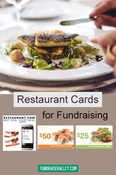 Restaurant Cards Fundraiser
