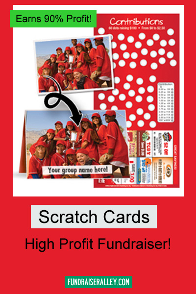 Scratchcards - High Profit Fundraiser