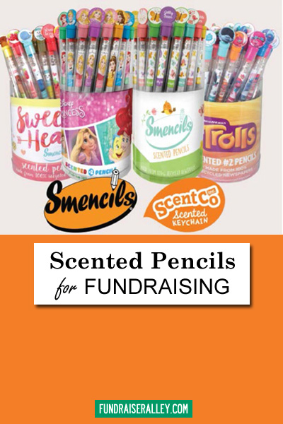 Scented Pencils for Fundraising