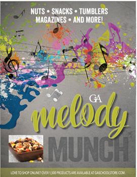 Melody Munch Order-Taker Fundaising Brochures