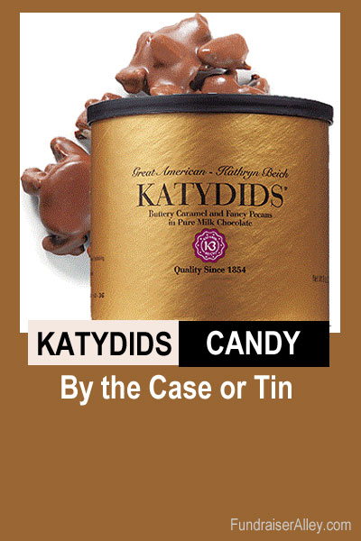 Katydids Candy by Case or Tin
