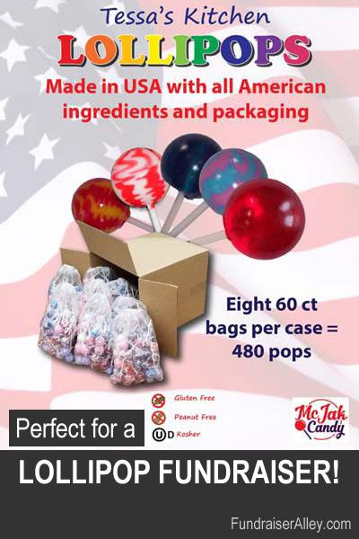 Tessas Kitchen Lollipops Fundraiser