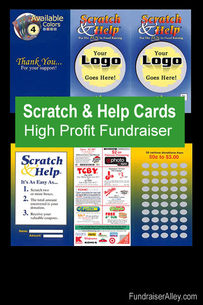 Scratch & Help Cards - High Profit Fundraiser