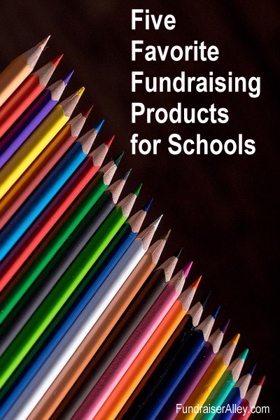 Five Favorite Fundraising Products for Schools