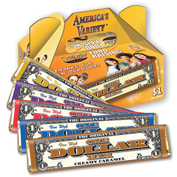 Americas Variety One Dollar Candy Bar Fundraising Kit