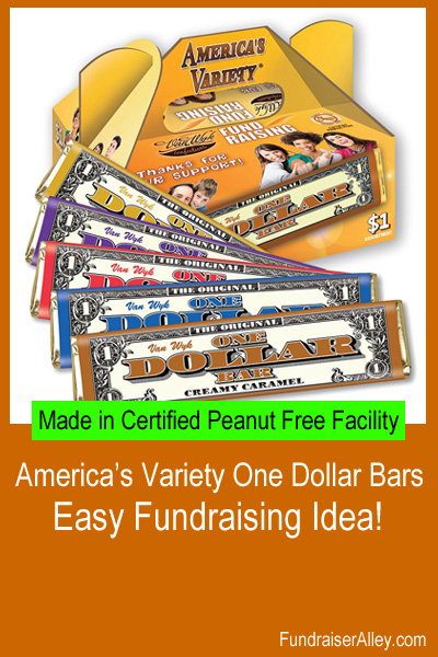 Americas Variety One Dollar Bars - Easy Fundraising Idea