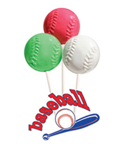 Baseball Lollipops for Fundraising