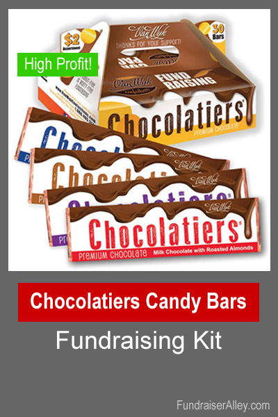 Chocolatiers Candy Bars Fundraising Kit