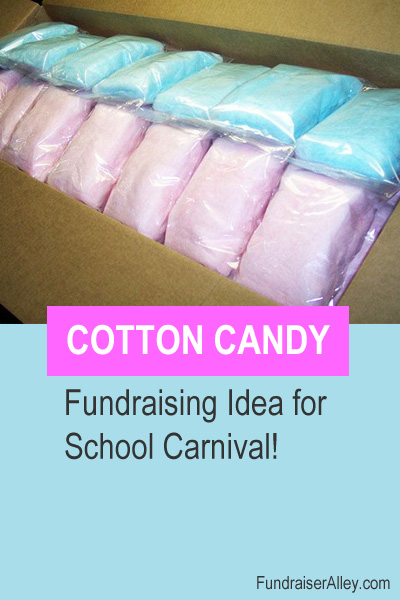 Cotton Candy - Fundraising Idea for School Carnival