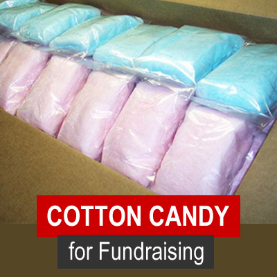 Cotton Candy for Fundraising