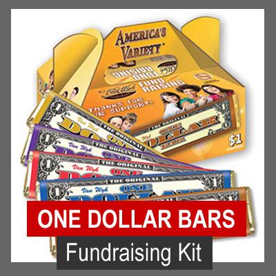 Americas Variety One Dollar Bar Fundraising Kit