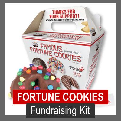 Van Wyks Famous Fortune Cookies Fundraising Kit