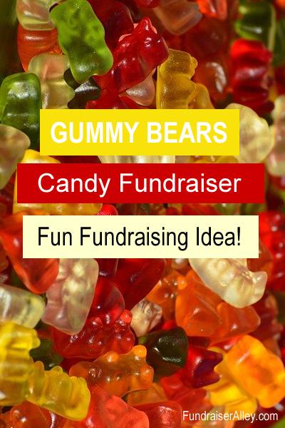 Gummy Bears Candy Fundraiser, Fun Fundraising Idea