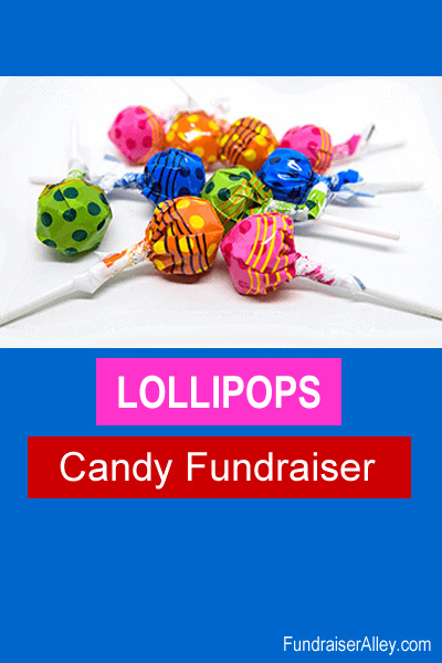 Lollipops Candy Fundraiser