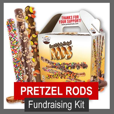 Van Wyk Pretzel Rods Fundraising Kit