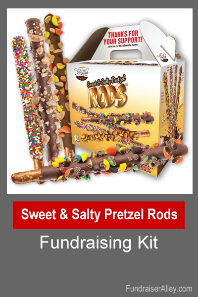 Sweet and Salty Pretzel Rods Fundraising Kit