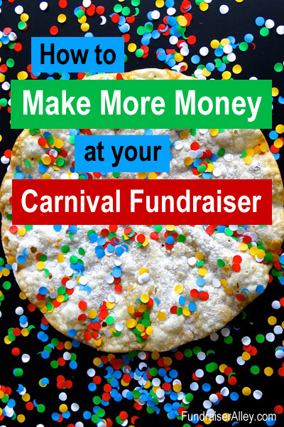 How to Make More Money at your Carnival Fundraiser
