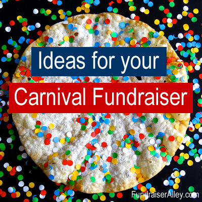 Ideas for your Carnival Fundraiser