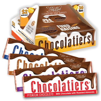 Chocolatiers $2 Candy Bar Fundraiser Kit