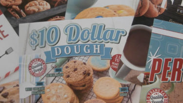 Cookie Dough Fundraising Brochures