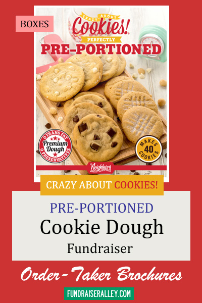 Cookie Dough Order-Taker Fundraiser - Pre-portioned Boxes