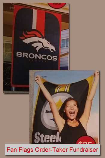 Display Fan Flags