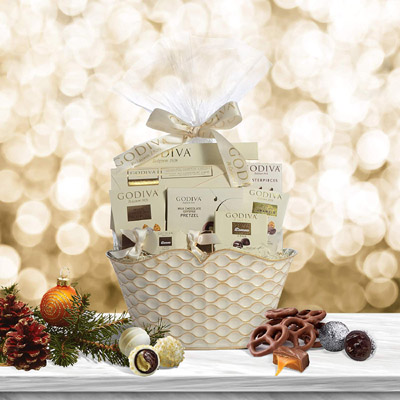 Godiva Chocolate Gift Basket - Amazon.com