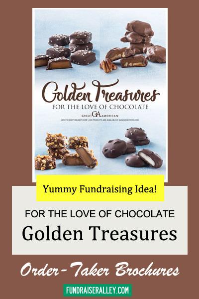 Golden Treasures Candy Fundraising Brochures
