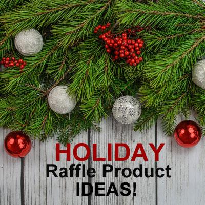 Christmas Holiday Raffle Product Ideas Fundraiser Alley