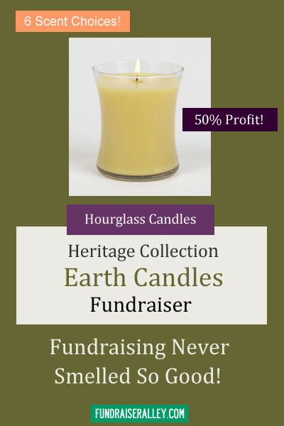 Hourglass Candles for Fundraising - Heritage Collection