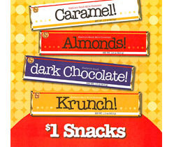 KB $1 Candy Bars for Fundraising