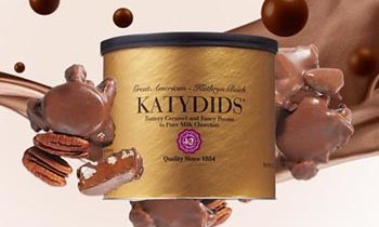 Katydids Candy Tins for Fundraising