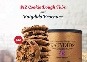 Katydids and Cookie Dough Order-Taker Fundraiser