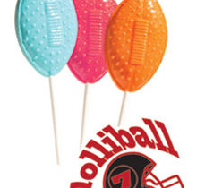 Football Lollipops