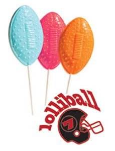 Football Lollipops for Fundraising