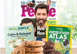 Magazines and Cookie Dough Fundraiser
