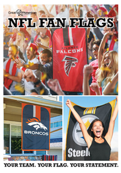 NFL Flags Fundraising Brochures