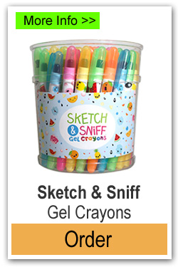 Order Sketch and Sniff Gel Crayons